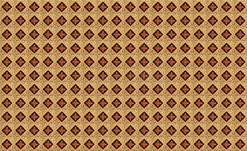 Modelo meridional del azulejo foto de archivo libre de regalías