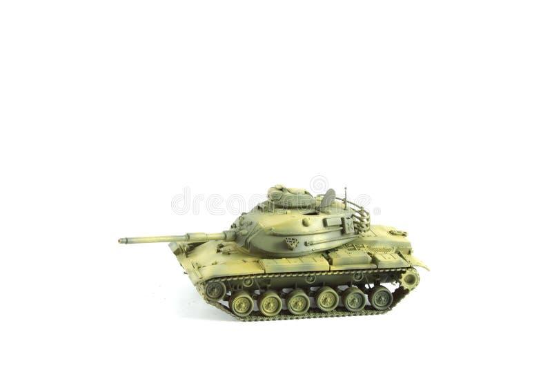 Modelo militar Type M60 Patton do tanque do exército imagem de stock royalty free