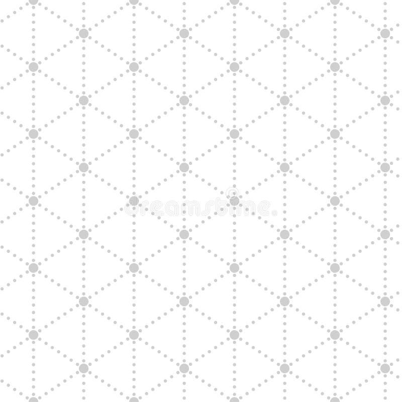 Modelo minimalistic inconsútil simple ilustración del vector