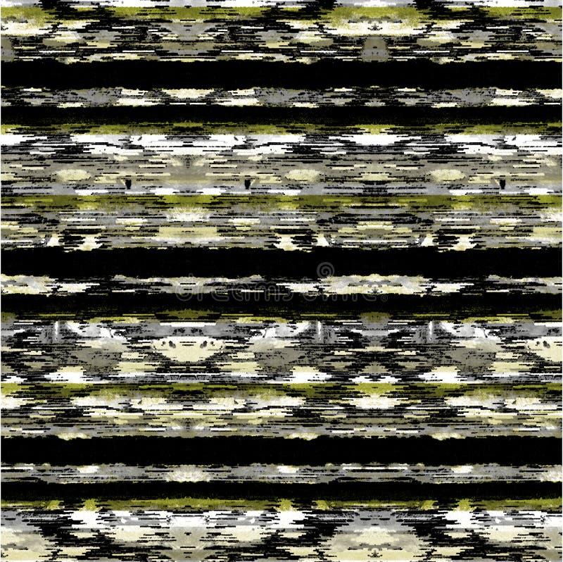 Modelo moderno de la acuarela de la repetición geométrica de la textura ilustración del vector