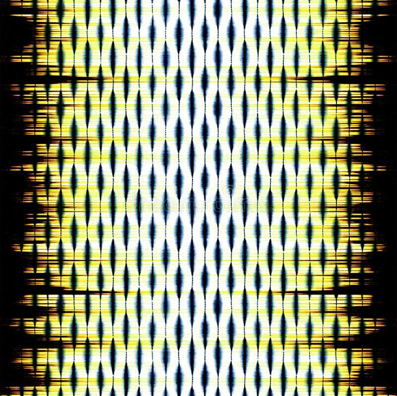 Modelo moderno de la acuarela de la repetición geométrica de la textura libre illustration