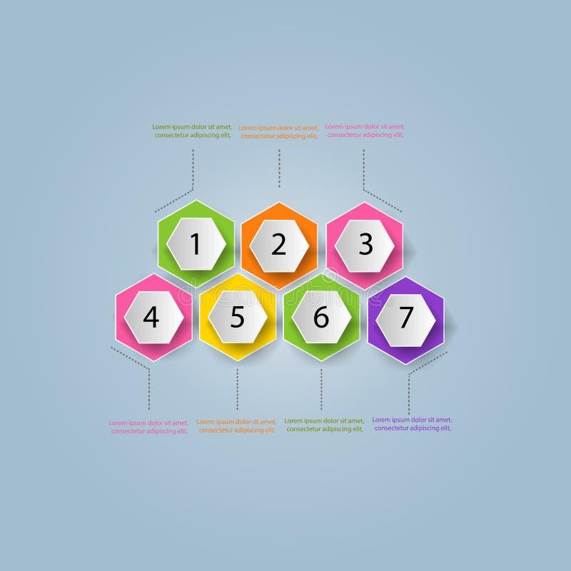 Modelo moderno del asunto Ilustración del vector Puede ser utilizado para w ilustración del vector