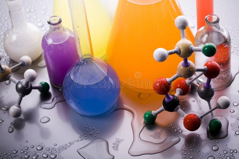 Modelo molecular - laboratório foto de stock royalty free