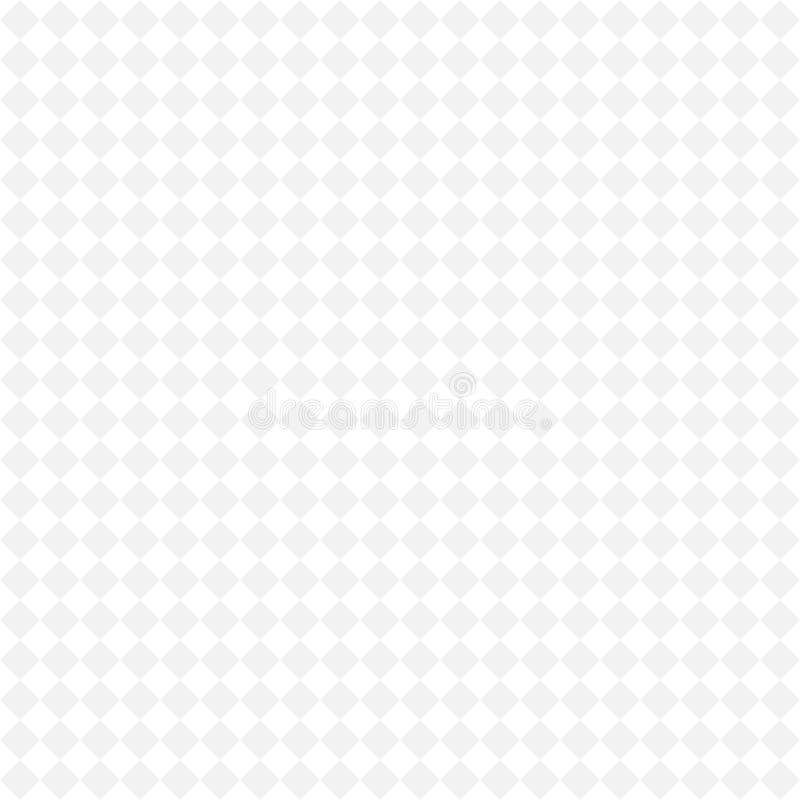 Modelo monocromático geométrico simple, fondo inconsútil Modelo geométrico del ajedrez diagonal stock de ilustración