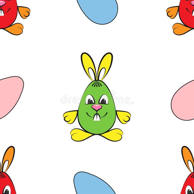 Modelo Motivos de Pascua Conejos y huevos libre illustration