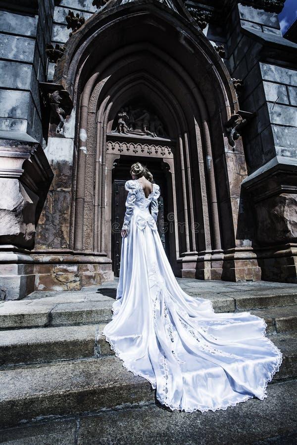 Modelo no vestido imagem de stock
