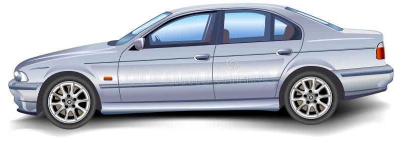Modelo novo BMW ilustração royalty free