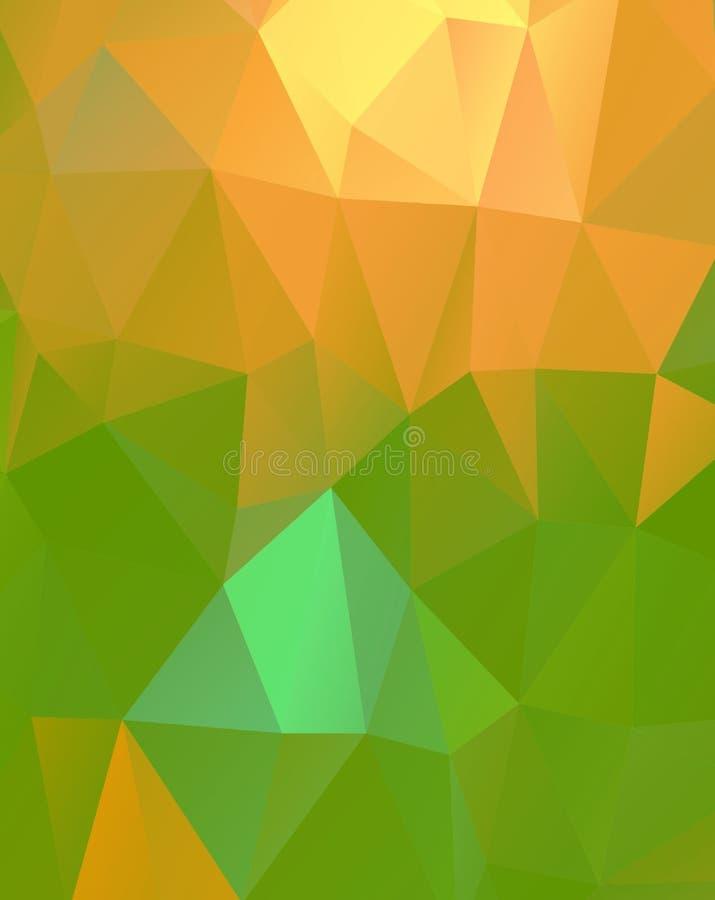 Modelo o fondo abstracto ilustración del vector