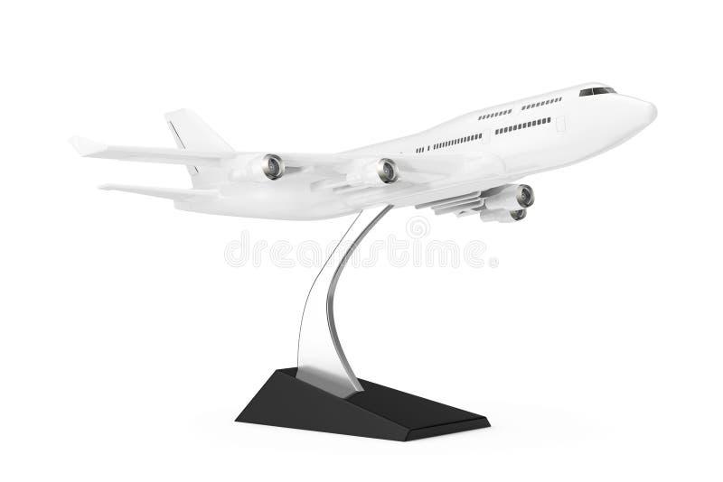 Modelo ommercial del aeroplano de Jet Passenger del ¡blanco del ` s Ð representación 3d libre illustration