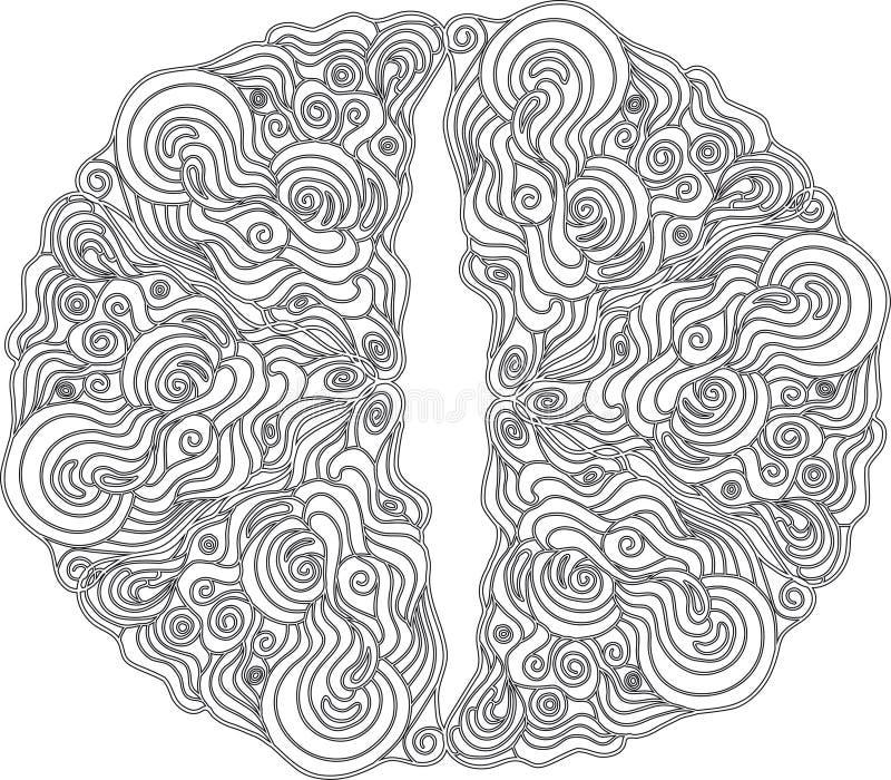 Modelo ornamental en de estilo celta ilustración del vector