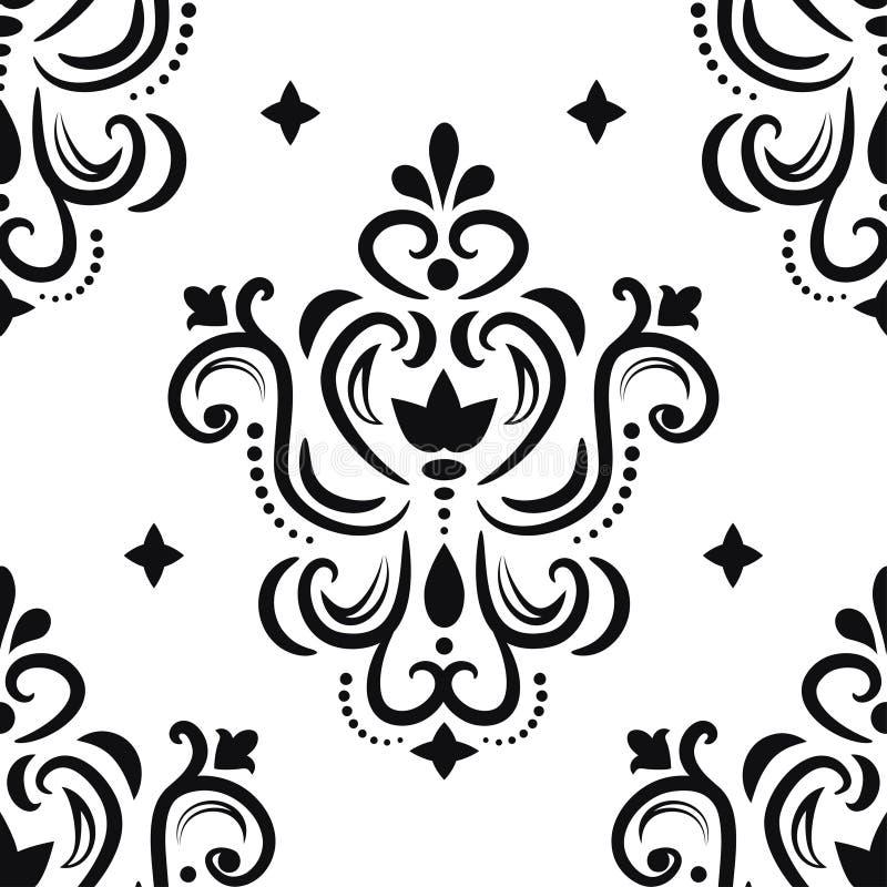 Modelo ornamental para el diseño libre illustration