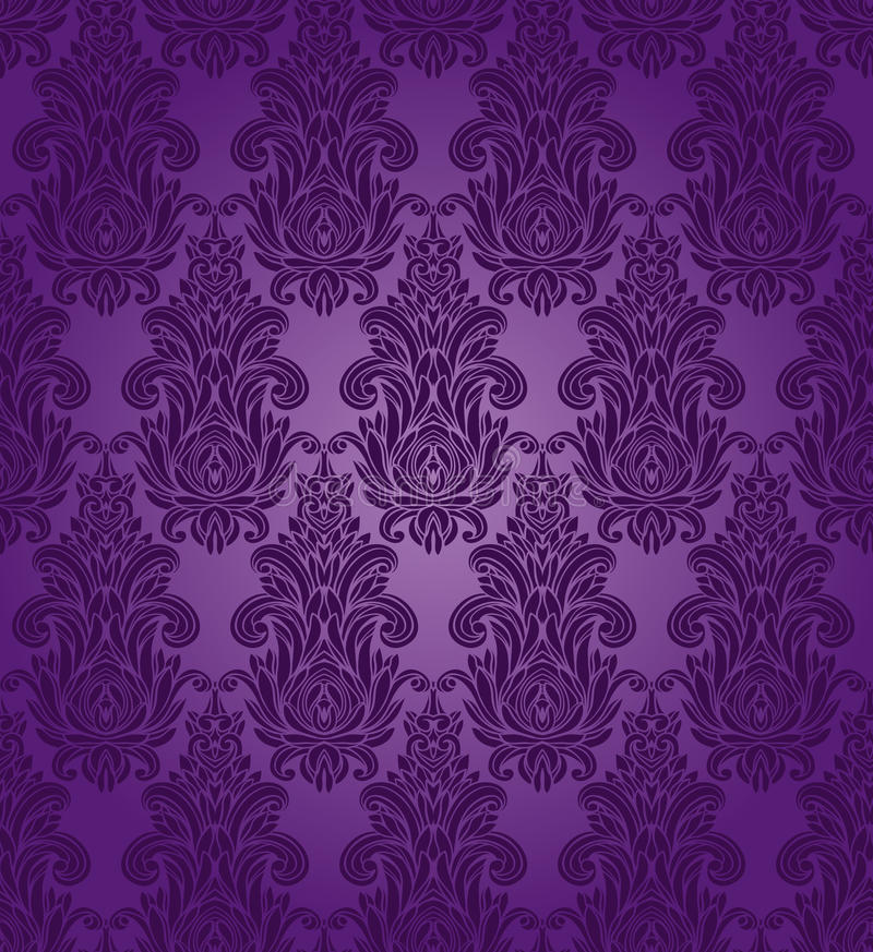 Modelo púrpura inconsútil libre illustration