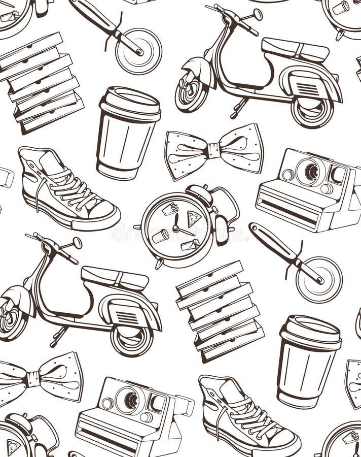 Modelo para el café, restaurantes, barras, pizzerias imágenes de archivo libres de regalías