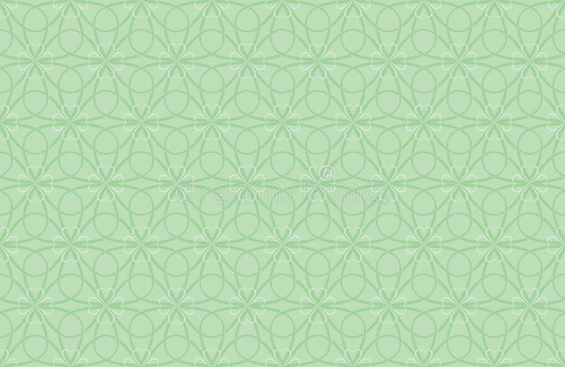 Modelo para el día del St. Patricks ilustración del vector