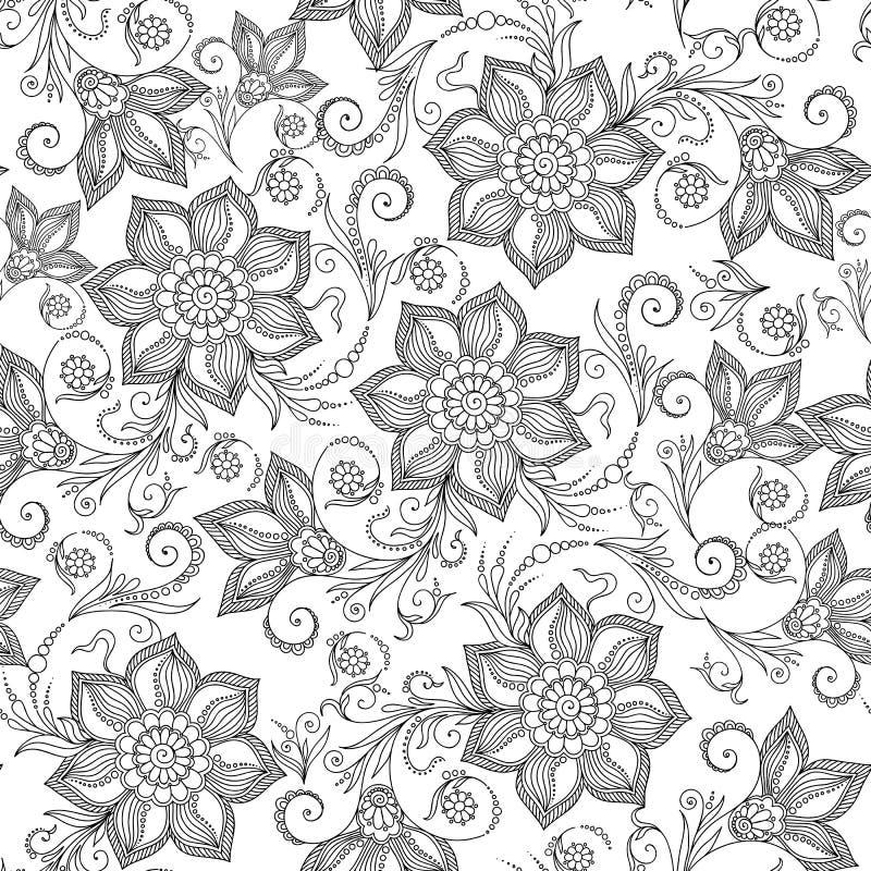Lujo Henna Para Colorear Imprimible Composición - Dibujos Para ...