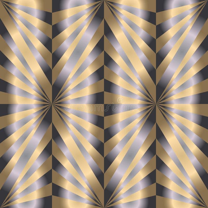 Modelo poligonal de la perla inconsútil Fondo abstracto geométrico ilustración del vector