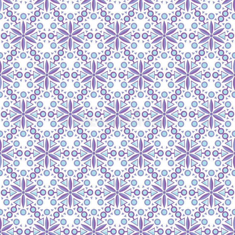 Modelo radial geométrico inconsútil islámico árabe abstracto Vector libre illustration