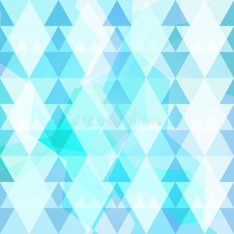 Modelo retro del triángulo de los inconformistas stock de ilustración