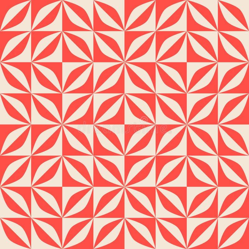 Modelo retro inconsútil con formas geométricas abstractas fotografía de archivo