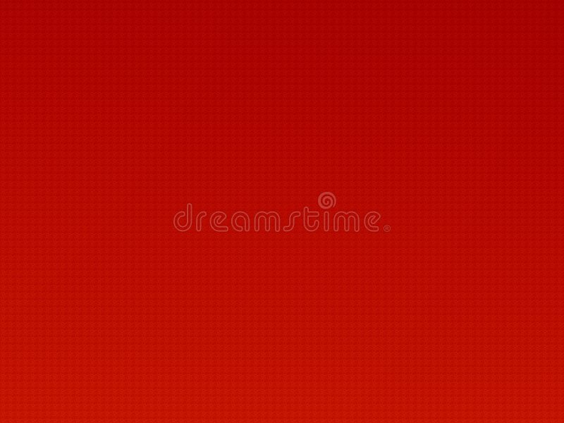 Modelo rojo ilustración del vector