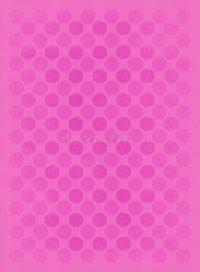 Modelo rosado descolorado de los círculos libre illustration