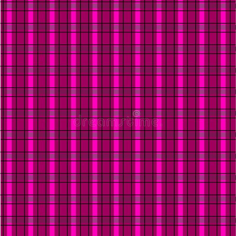 Modelo rosado inconsútil de la tela escocesa libre illustration