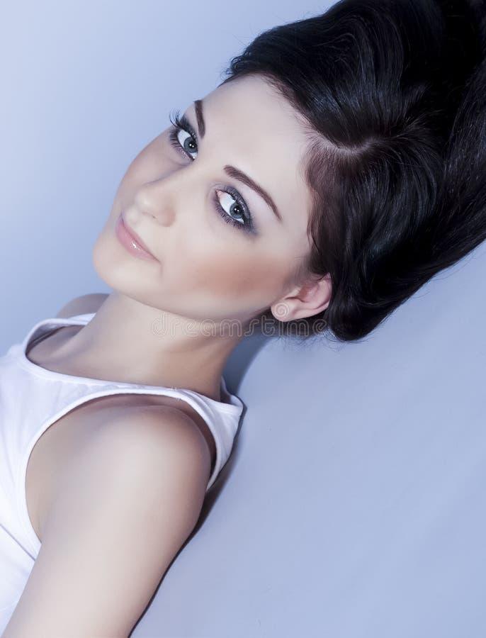 modelo sensual da mulher imagens de stock royalty free