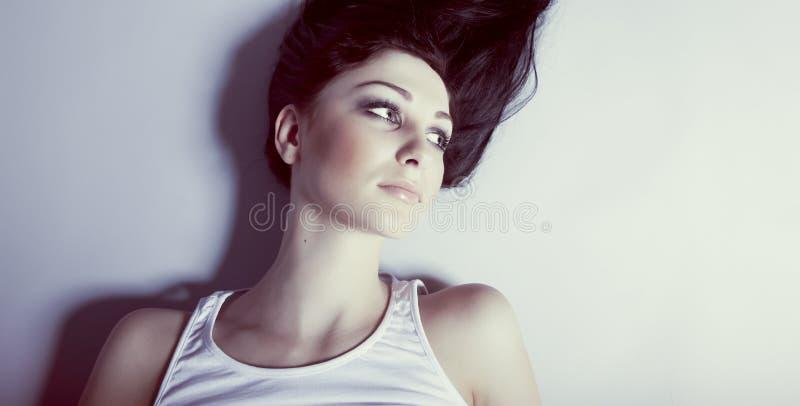 Modelo sensual da mulher imagem de stock royalty free