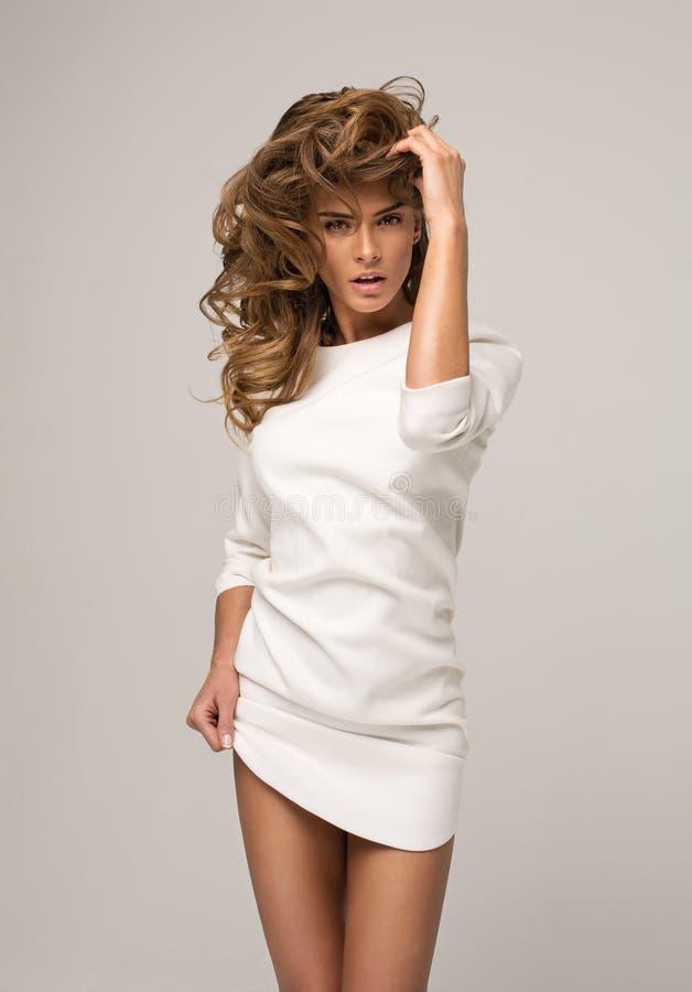Modelo 'sexy' imagem de stock