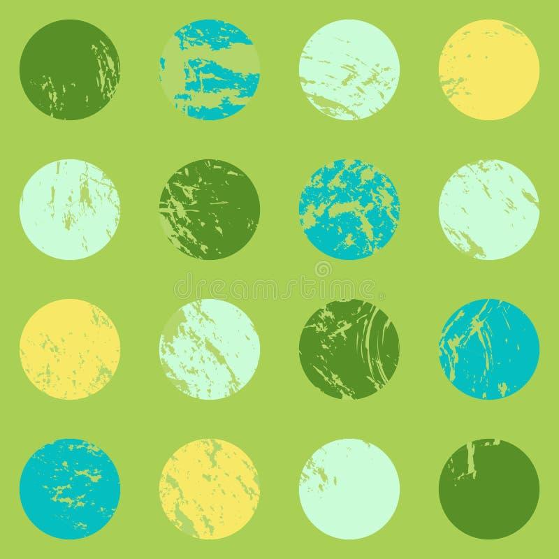 Modelo simple con los lunares brillantes Fondo incons?til para su dise?o ilustración del vector