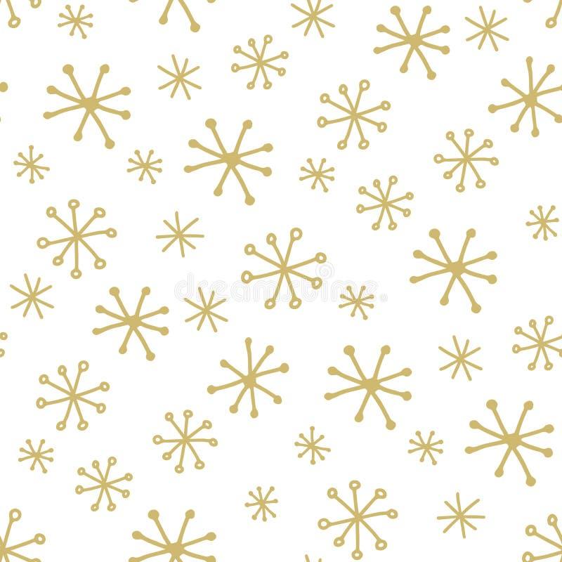 Modelo simple del invierno ilustración del vector