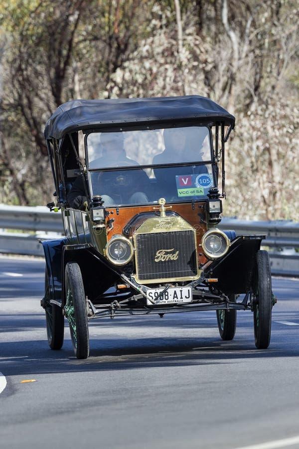 Modelo T Tourer de 1913 Ford fotos de archivo libres de regalías