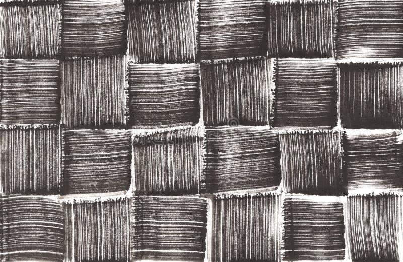 Modelo tejido pintado a mano foto de archivo libre de regalías