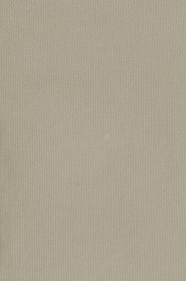 Modelo texturizado vertical grande macra detallada de color caqui beige del espacio de la copia de la arpillera de la lona de lin fotos de archivo