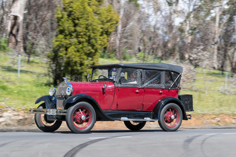 Modelo A Tourer de 1929 Ford fotos de stock royalty free
