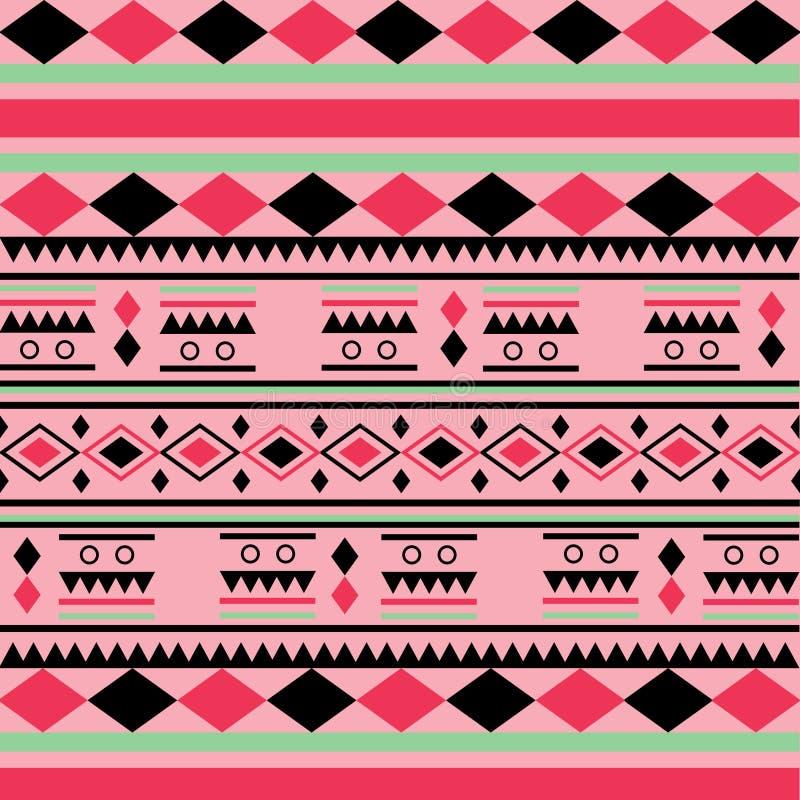 Modelo tribal stock de ilustración