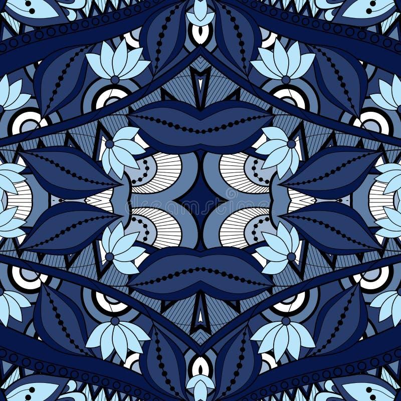Modelo tribal abstracto inconsútil (vector) libre illustration