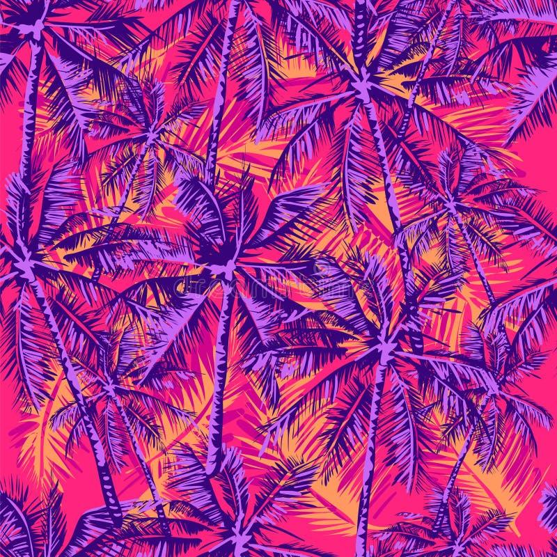 Modelo tropical ilustración del vector