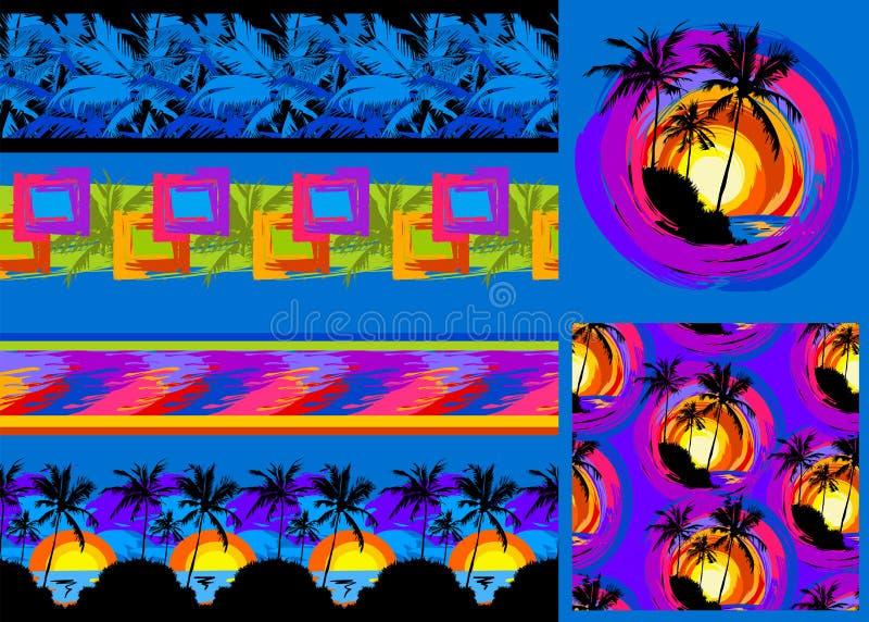 Modelo tropical 37 libre illustration