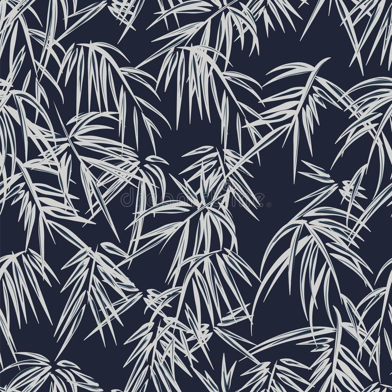 Modelo tropical inconsútil ilustración del vector