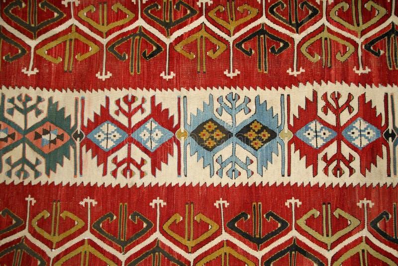 Modelo turco de la alfombra fotos de archivo libres de regalías