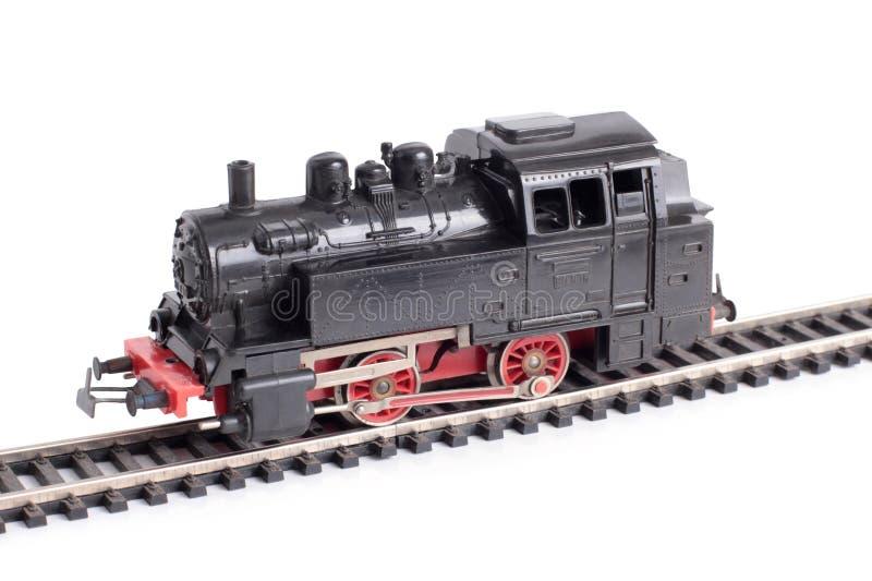 Modelo uno del tren del vapor imagen de archivo libre de regalías