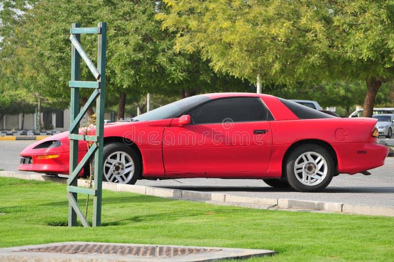Modelo velho de Chevrolet Camaro imagem de stock