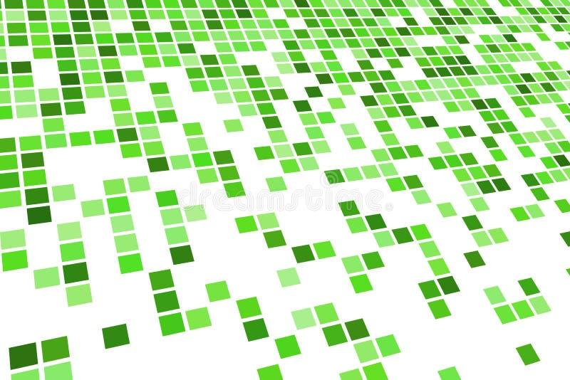 Modelo verde del azulejo ilustración del vector