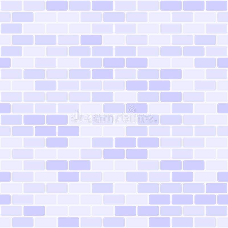 Modelo violeta de la pared de ladrillo Fondo inconsútil del ladrillo del vector libre illustration