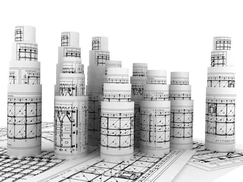 Modelos ilustração stock