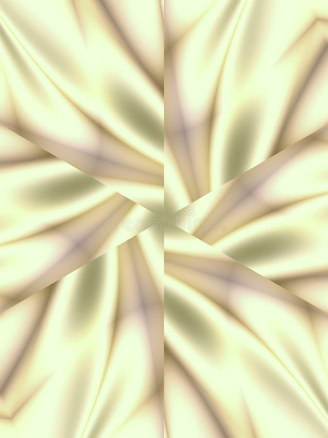 Modelos abstractos sedosos blancos libre illustration