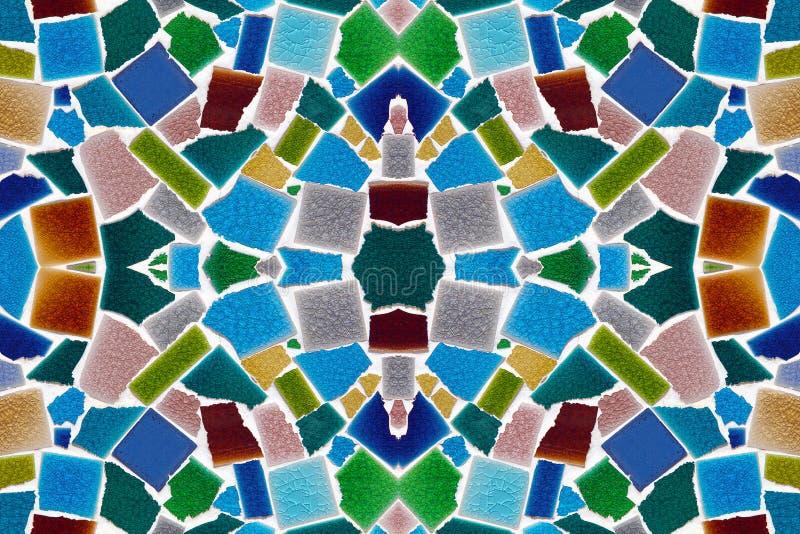 Modelos coloridos de tejas libre illustration