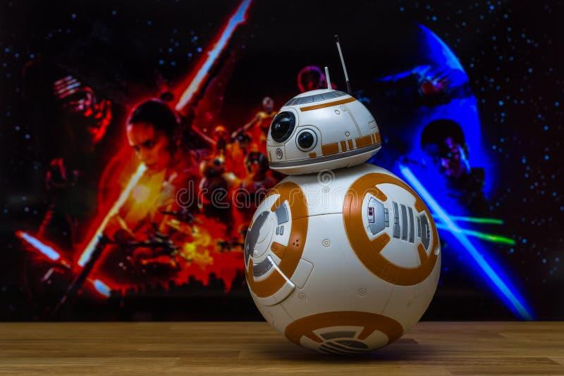 Modelos de BB-8 Android foto de stock