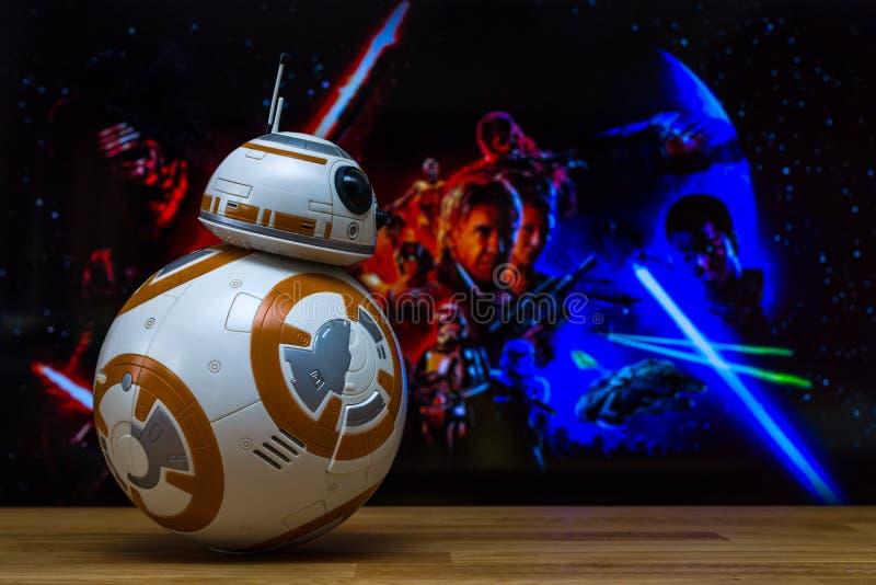 Modelos de BB-8 Droid imágenes de archivo libres de regalías